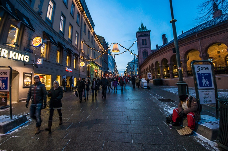 Karl Johan Oslo 2012 Norway