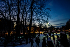 Spikersuppa, Oslo, Ice rink
