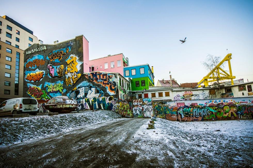 Housmania, Oslo, 2012, graffiti
