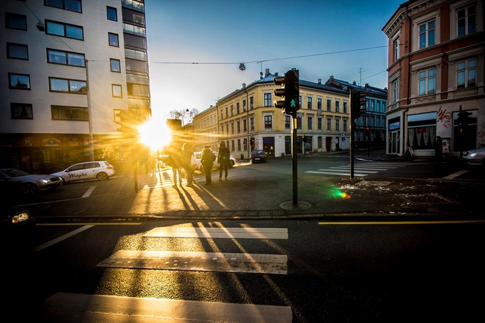 Sun and Oslo = Love