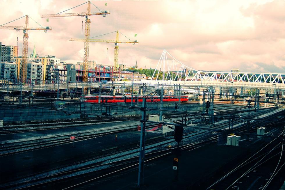 Oslo sentral station, eller Oslo sentralstasjon