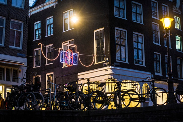 9 streets - amsterdam - christmas decorations, 9