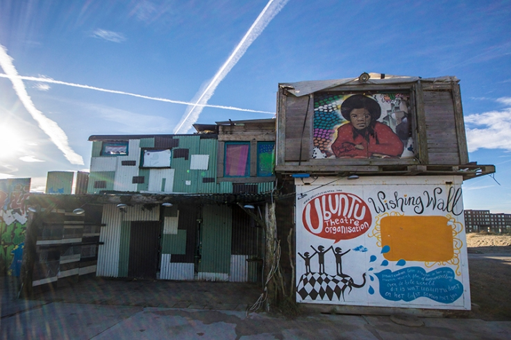 Wishing wall at blijburg beach amsterdam