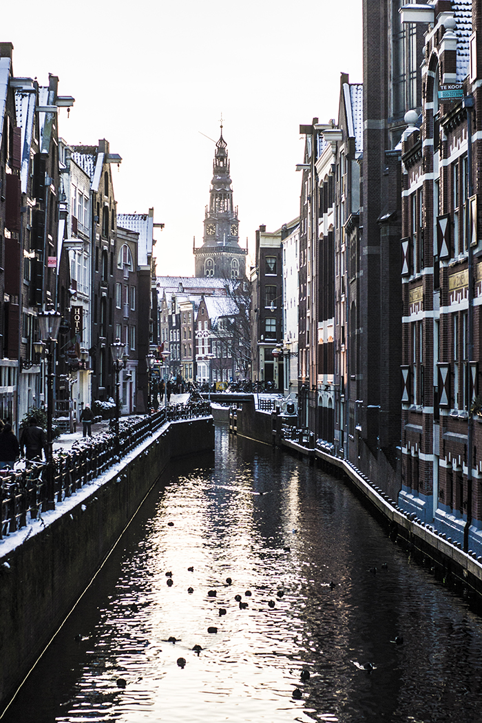 Winter Amsterdam, Holland