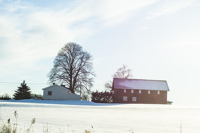 Norway - vinter  - asker