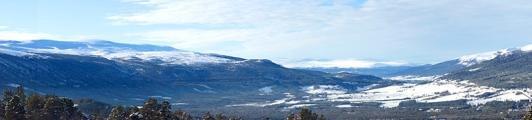 mountains panorama norway