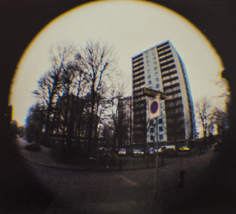 Diemen, shot with a baby fisheye