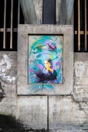 graffiti by C215 in Oslo
