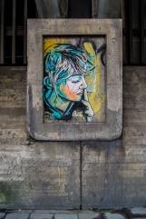 graffiti by Alice in Oslo - near Grønnland bussterminal