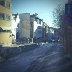 synagoge, Oslo, mars 2013