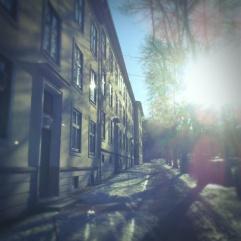 a street in Oslo, 2013