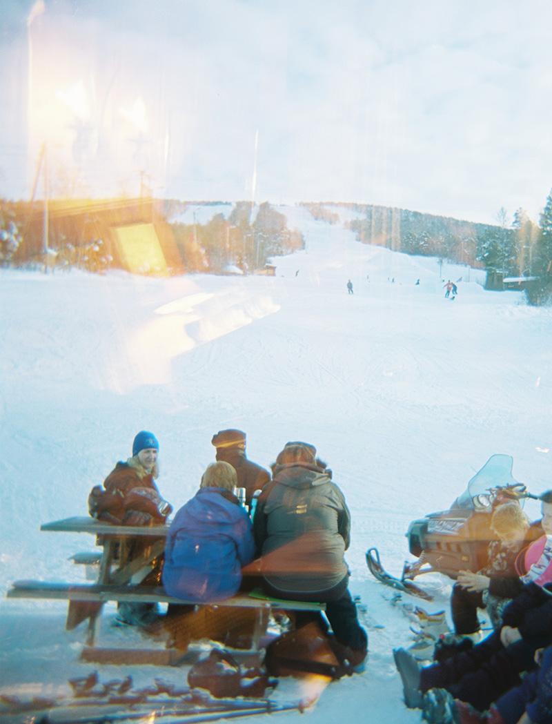 Winter activities at Dombås in Norway