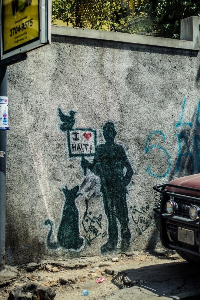 Love Haiti Graffiti