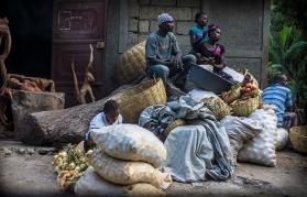 People in Haiti