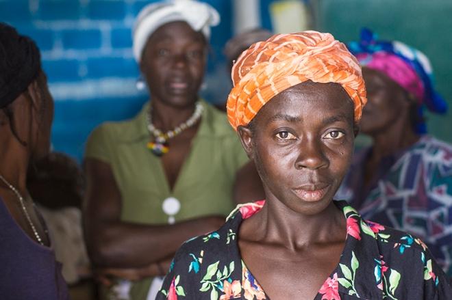 Beautiful Haitian womam
