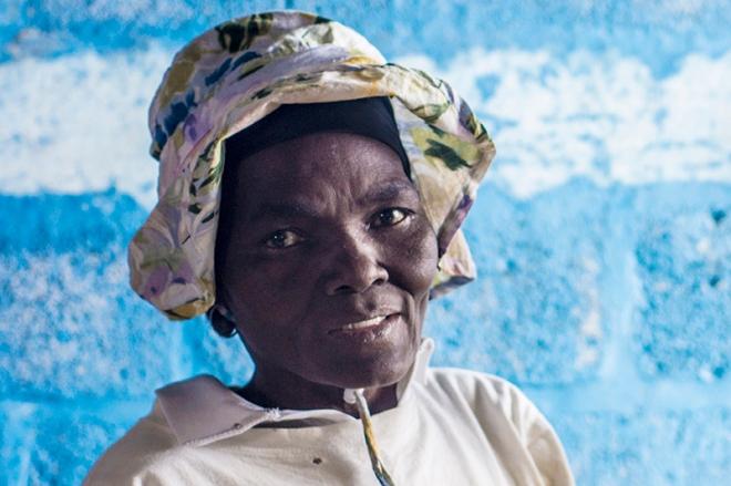 Haitian face
