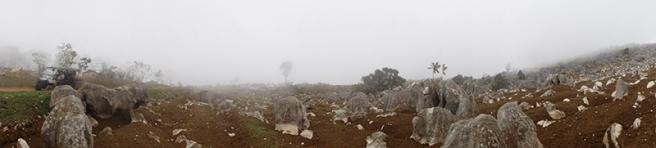 Misty panorama