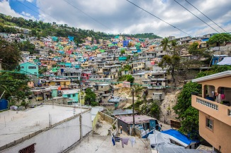 Jalozi - above Petion-Ville - Haiti