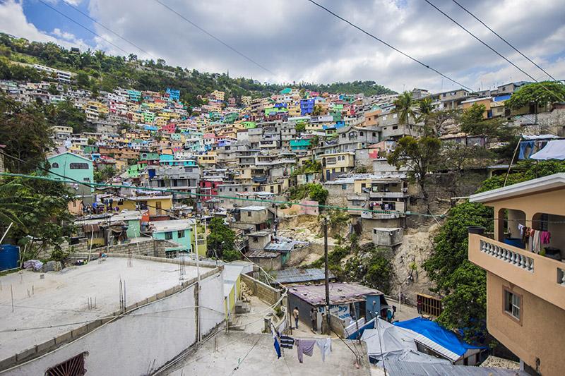 Jalouzi - above Petion-Ville - Haiti