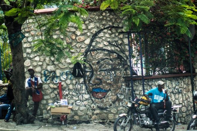 haiti graffiti