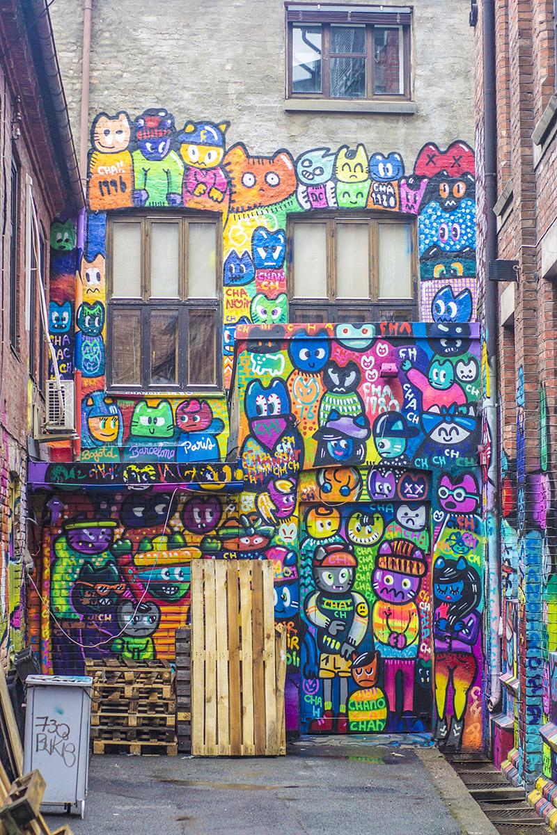 colourful graffiti oslo