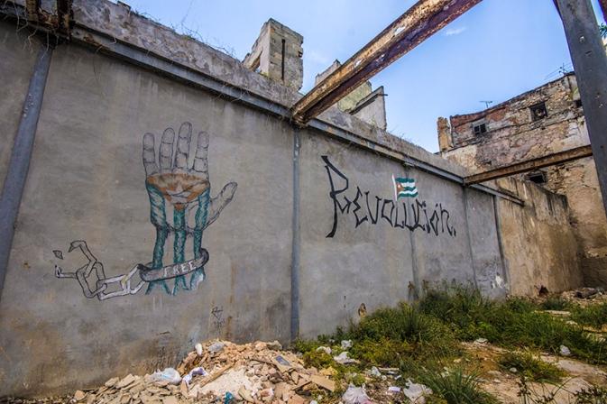 cuba revolution mural