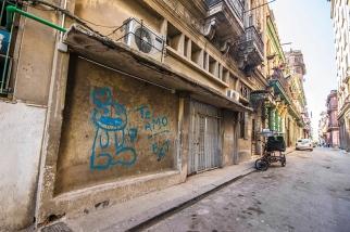 Te Amo graffiti - Cuba