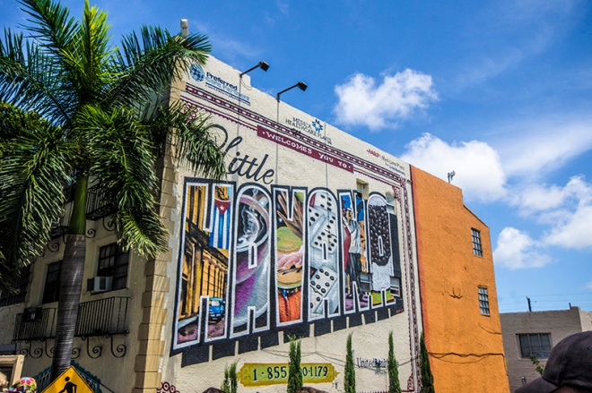 Little Havana in Miami Mural