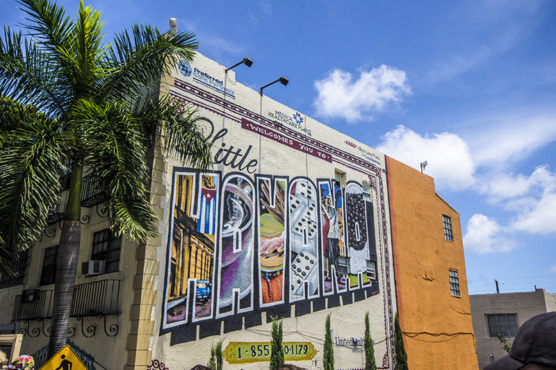 Little Havana in Miami Mural