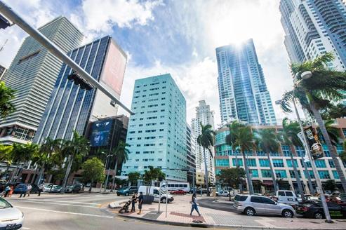 Miami Downtown – skyscrapers