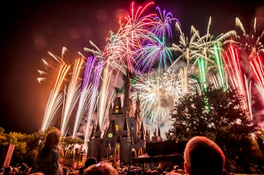 Disney World Orlando - Magic Kingdom Fireworks