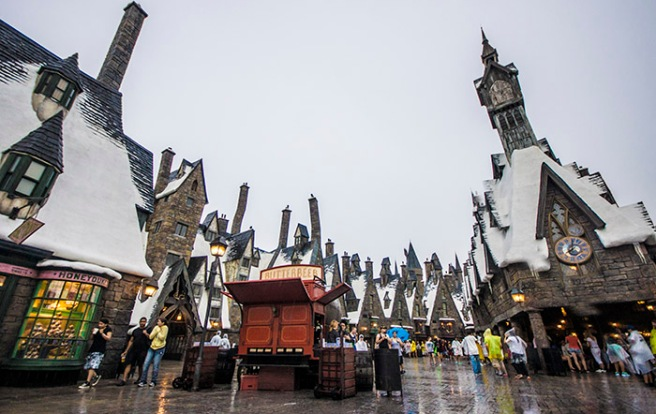 Universal Isles Of Adventure - Wizarding World of Harry Potter