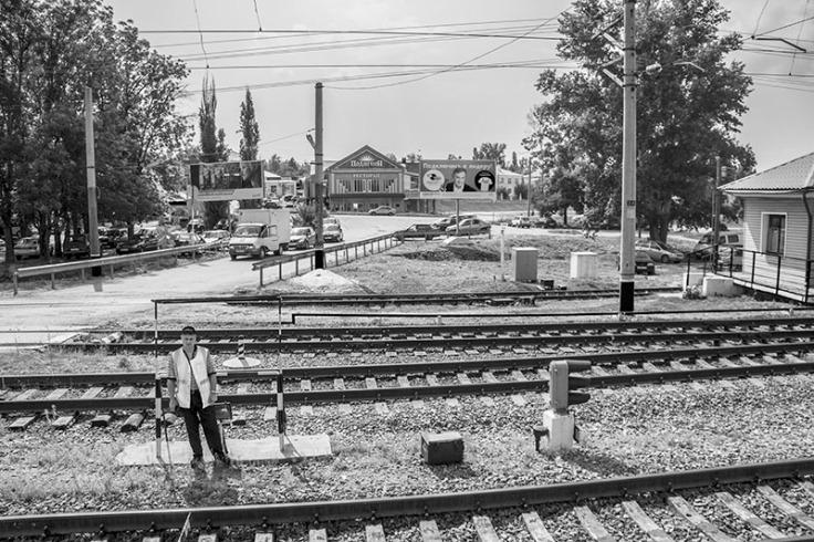 seen from train window