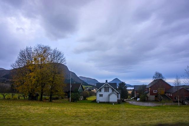 atlanderhavsveien - early morning