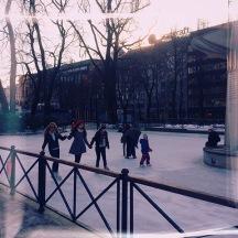 ice rink, oslo