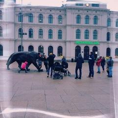 those tourists!
