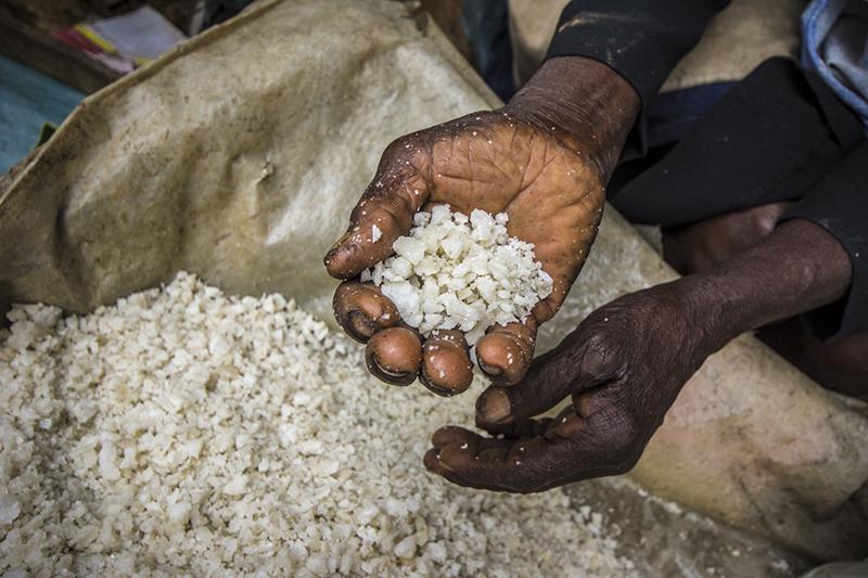Macaya Market, salt (Haiti)