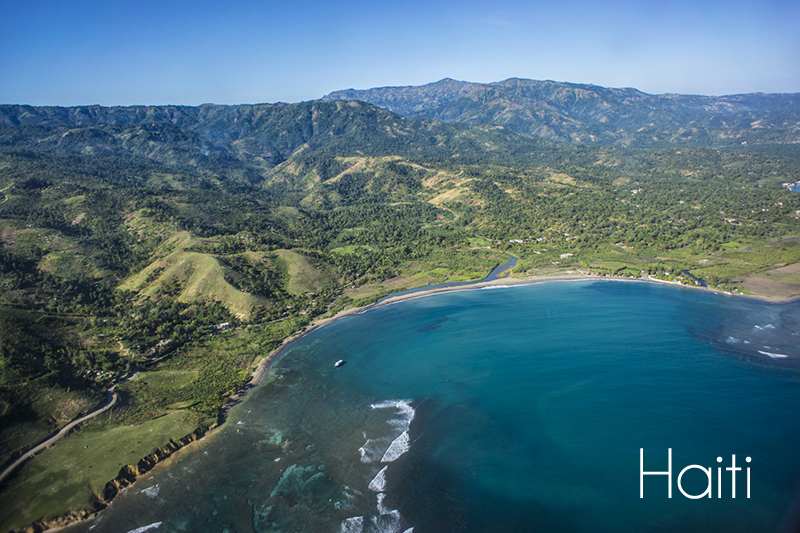 haiti - bird view