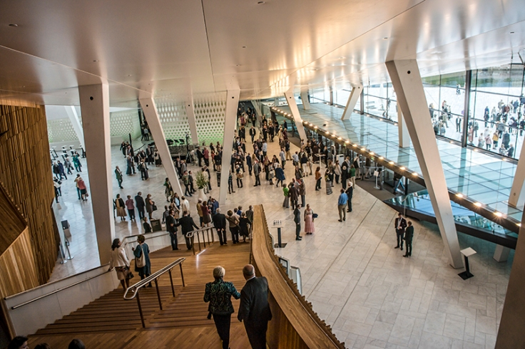 oslo opera house interior