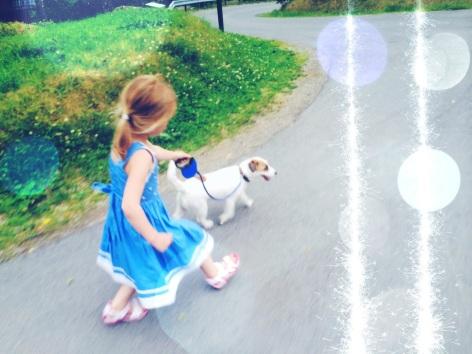 Milli finds new friend