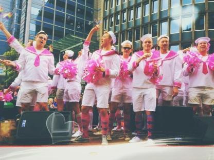 Oslo Pride - pink highlight 2