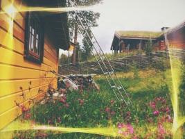 hytta på fjellet - mountain cottage