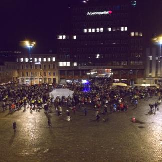 demonstration against fur, Oslo