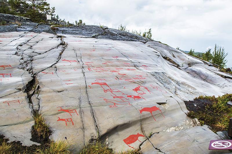 prehistoric carvings in Alta
