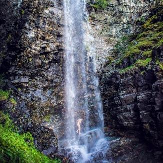 waterfall, alta