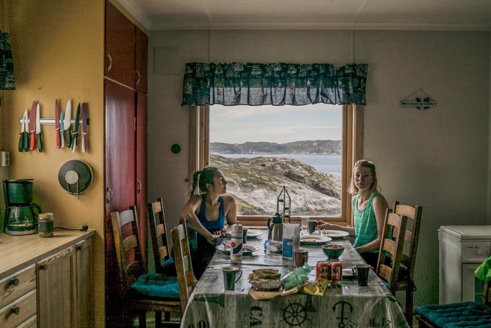 Breakfast at Bøkfjord lighthouse