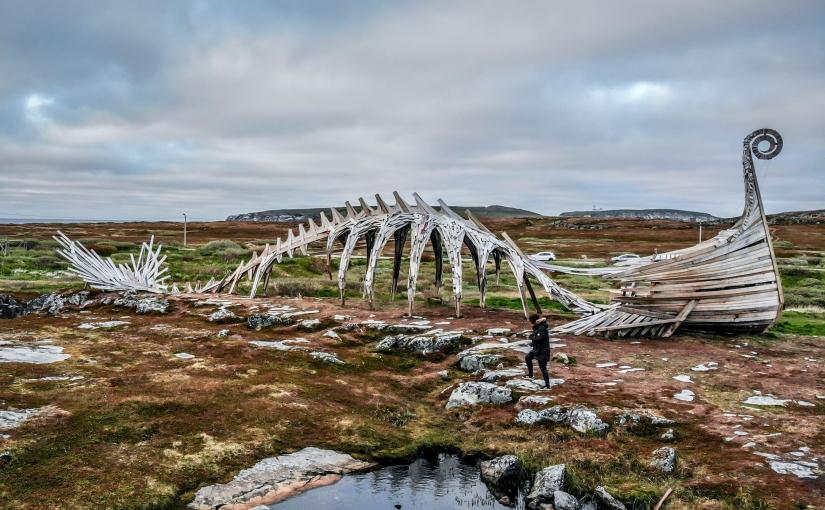 Drakkar in Vardø